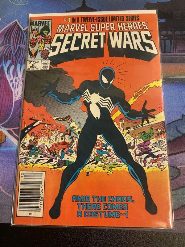 Secret Wars 8 Newsstand Edition