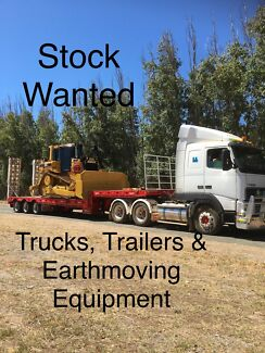 Wanted: Western Truck & Machinery Sales are Wanting Stock