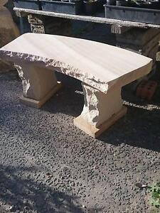 SANDSTONE GARDEN BENCH Shellharbour Area Preview