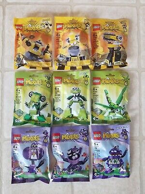 LEGO Series 6 Mixel Complete Set - 9 Bags/Pouches – Retired 41545 thru 41553