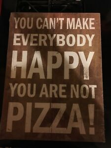 Brand new pizza sign