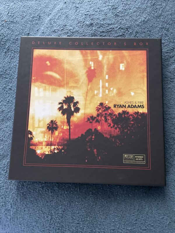Ryan Adams Ashes & Fire Collectors Box Plus Ashes & Fire T-shirt