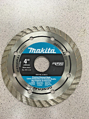 Makita 4 Diamond Blade 20 105mm Arbor A-94873