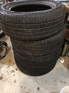 275/60R20 Goodyear eagle Rs-a tires