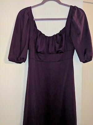 Free 2 Luv sz L plumb stretchy dress (Plumb Dress)