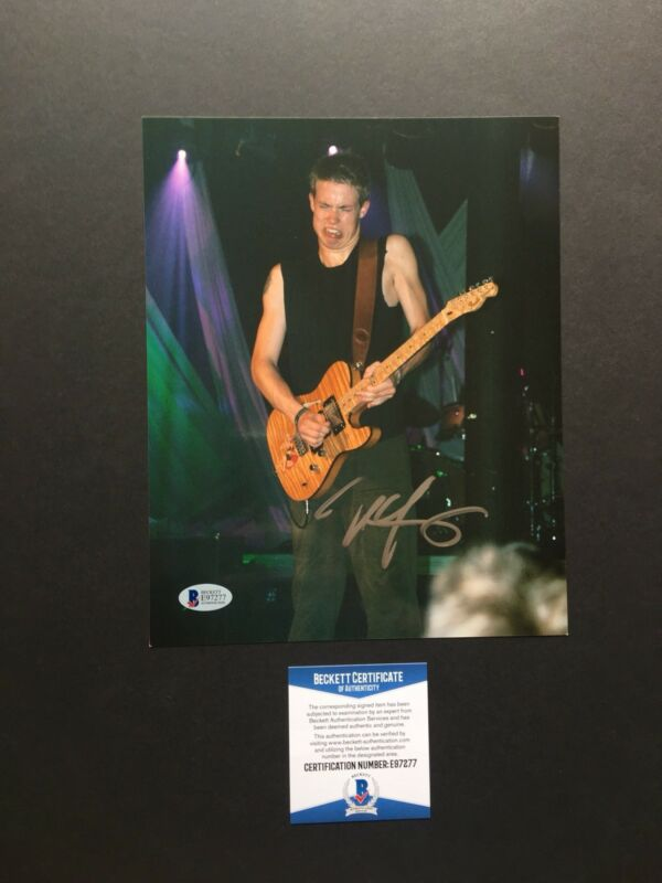 Jonny Lang autographed signed 8x10 photo Beckett BAS COA Music Blues With Proof