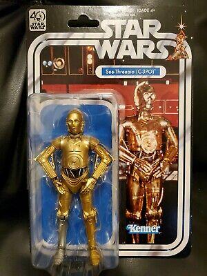 Star Wars The Black Series 40th Anniversary C-3PO new unopened NM