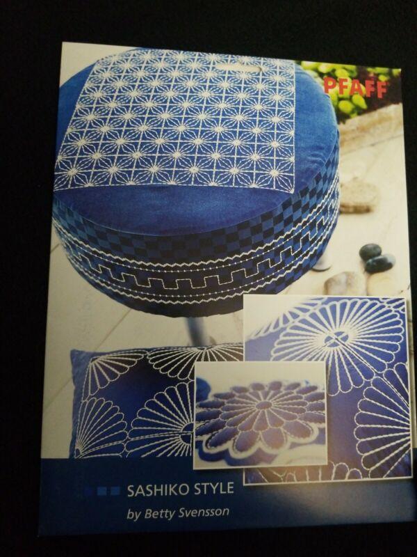 Pfaff 468 Sashiko Style by Betty Svensson multi format design CD