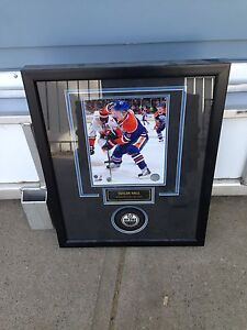 Taylor Hall framed picture