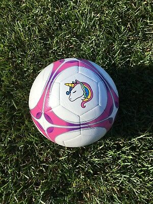 New High Quality Pink and Purple Custom Unicorn Soccer Ball Size 4 and 5