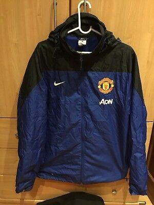 Manchester United Official Players Issue Jacket Nike Storm Fit Football