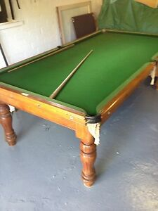 Antique Alcock 1890 Billiard table Southport Gold Coast City Preview