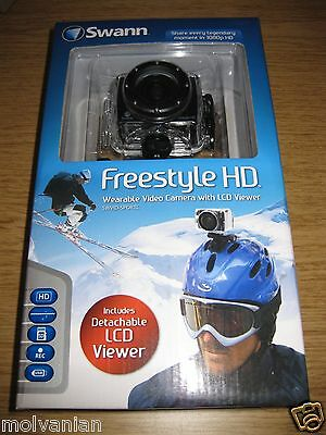 SWANN COMMUNICATIONS FREESTYLE HD 1080P CAMCORDER, BRAND NEW, BEST