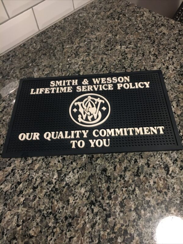 Smith & Wesson Store Counter Mat Pad