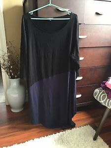 Eileen Fisher asymmetrical dress size 2X