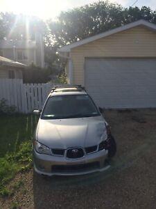 2007 Subaru Impreza body damage only