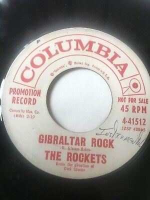 Garage Tittyshaker Promo 45  The Rockets  Gibralter Rock     Clean    Hear