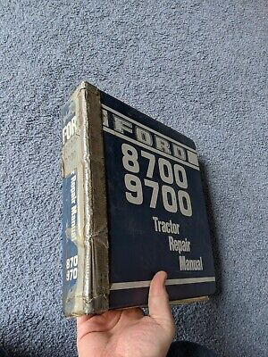 Ford 8700 9700 Tractor Service Shop Repair Workshop Manual Factory Oem Original