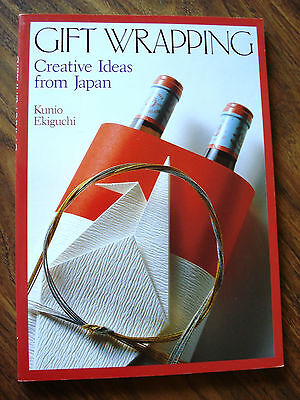 Gift Wrapping: Creative Ideas from Japan, Ekiguchi, Kunio
