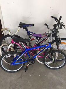 2 Junior bikes