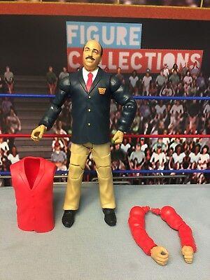 Wwe Wrestling Mattel Elite Flashback Series Mean Gene Okerlund Figure