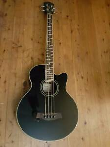 Ibanez acoustic bass guitar