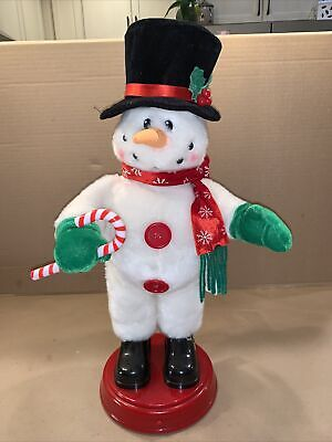 """Gemmy Snowman Singing, Dancing,Spinning, Booty Shaking, """"I've Got the Power"""""""