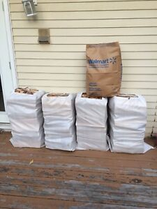 Free Delivery**4 XXL Bags Dry Birch Firewood+Kindle $140