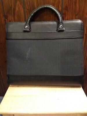 Day Runner Berlin Attache Planner Briefcase Organizer 3 Ring Binder Folio 14x12
