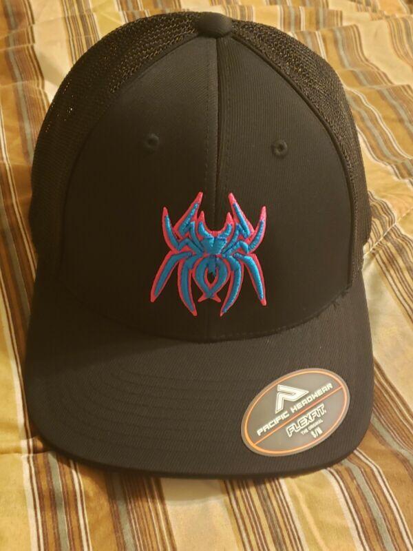 Spiderz Batting Gloves Flexfit Trucker Hat - S/M - MegaDraft PCB