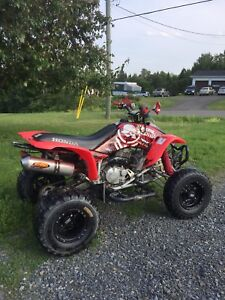 WANTED 400 or 450 race quad