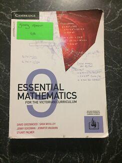 Year 9 - Maths Text Book