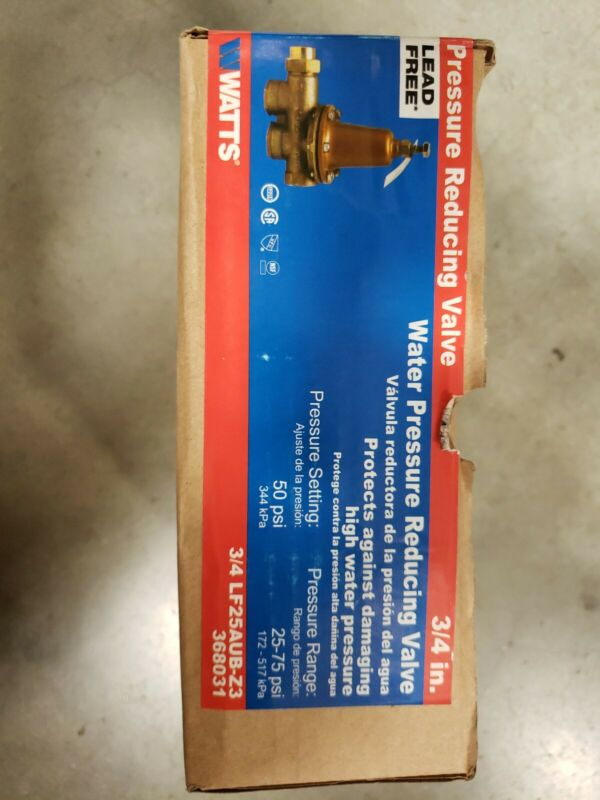 "3/4"" water pressure reducing valve"