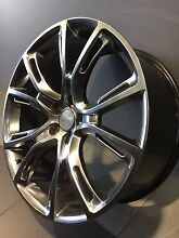 "JEEP GRAND CHEROKEE SRT8 SPIDER MONKEY 22"" ALLOY WHEELS Carramar Fairfield Area Preview"