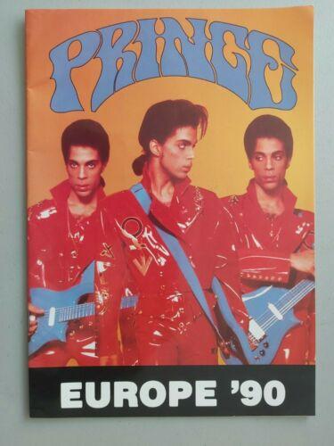 PRINCE NUDE Tour Program  (unofficial) UK 1990 #
