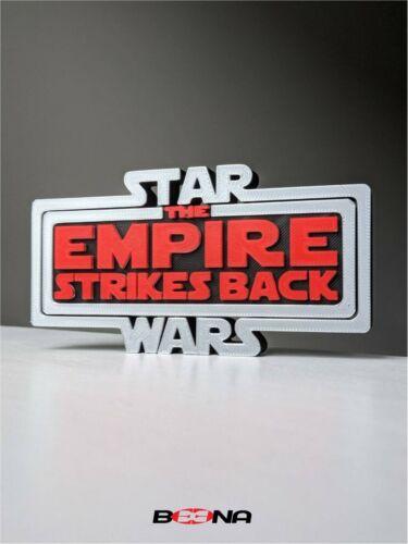 Decorative STAR WARS EMPIRE STRIKES BACK self standing logo display