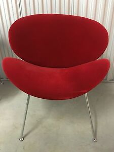 Velour chairs