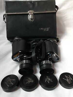 TASCO 7X-15X35 ZOOM BINOCULARS + CASE MODEL NO.101Z