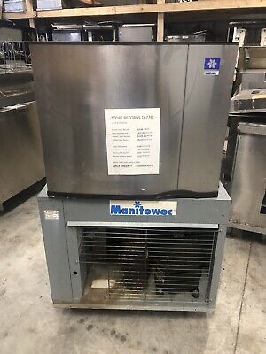Remote Ice Machine Condenser Manitowoc Quiet Cube Single Phase 8 Sets Sy1474c