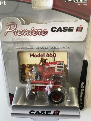 International Harvester Ertl 460 Muddy Tractor 1/64 Premiere Release #12