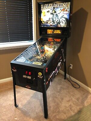 Harley Davidson Pinball Machine Sega home use great condition 1-4 players