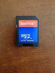 SanDisk Micro SD Adapter