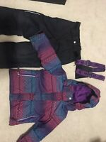 4T Winter Jacket and Snow pants- $20/pair