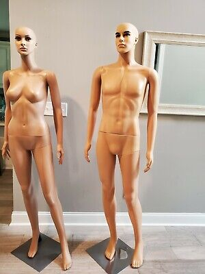 Male And Female Mannequin Full Body With Head And Stand 59 6
