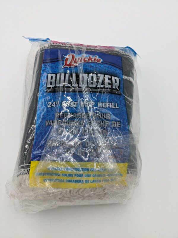 """Quickie Bulldozer 24"""" Dust Mop Cotton Replacement Refill Head 0694"""