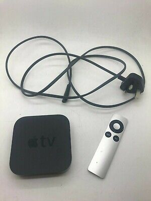 Apple TV (3rd Generation) HD Media Player - Black -  A1469