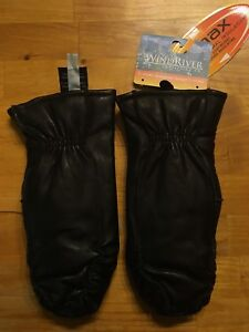 Wind River Women Leather Moccasin Mittens Size XL 8.5 NEW