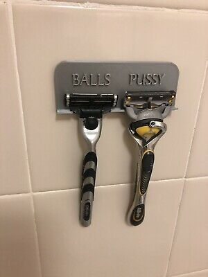 "shower razor holder ""Balls Pussy"" Organizer"