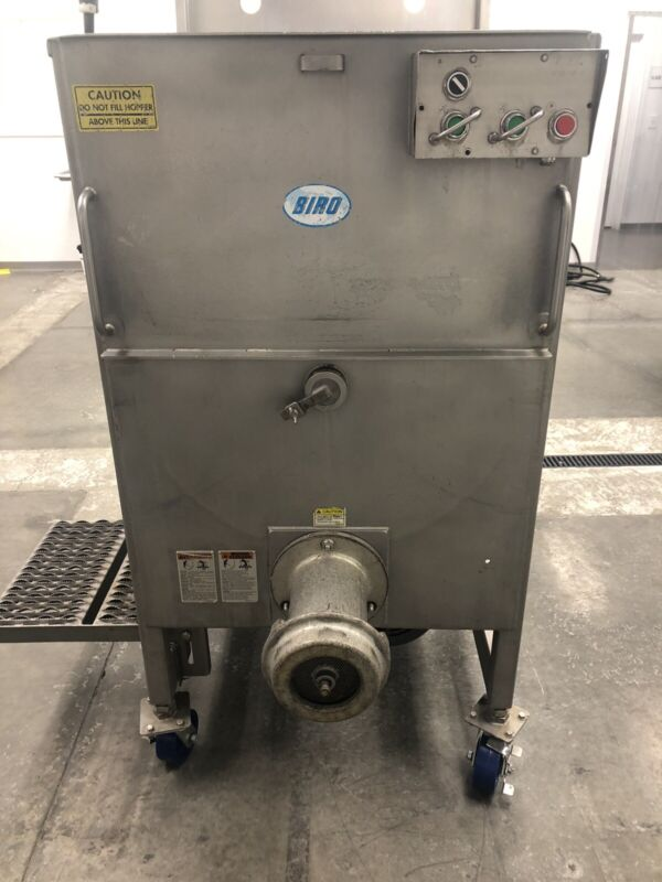 BIRO AFMG-52 Stainless Meat Mixer Grinder 10HP 3ph 220/480V.
