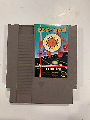 Pac-Man Tengen GREY (Nintendo Entertainment System NES) Cart Only Authentic